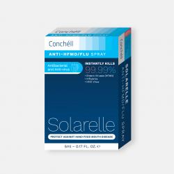 Xịt phòng bệnh Tay Chân Miệng và Cúm Conchell Solarelle