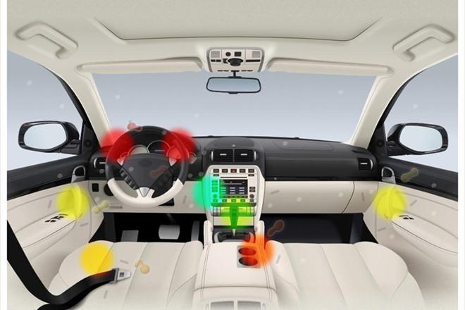 Nghiên cứu cho thấy trong xe hơi có lượng vi khuẩn cao gấp 22 lần so với điện thoại di động